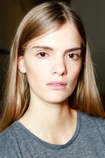 Proenza Schouler SS'14 makeup look