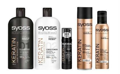 SYOSS KERATIN: H πρώτη ολοκληρωμένη σειρά περιποίησης και styling μαλλιών με κερατίνη, για επαγγελματικό αποτέλεσμα σε προσιτή τιμή