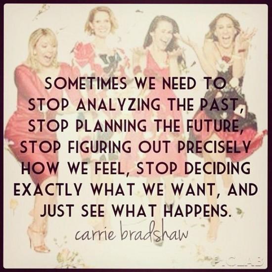 Carrie Bradshaw-life
