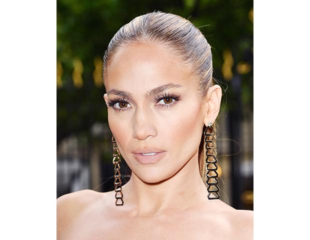 Jennifer Lopez @ Atelier Versace show