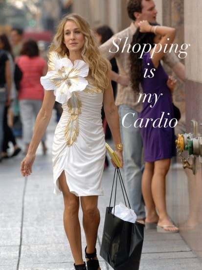Sex and the city-shopping