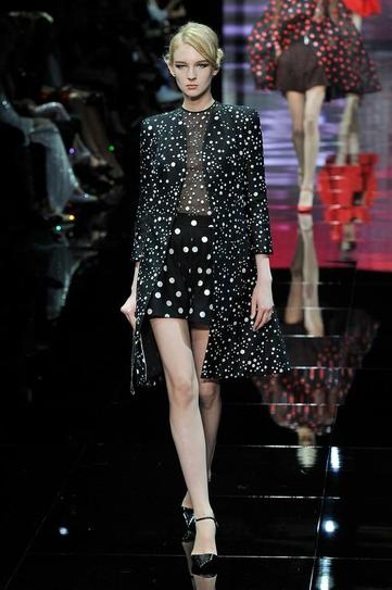Armani Prive fashion show