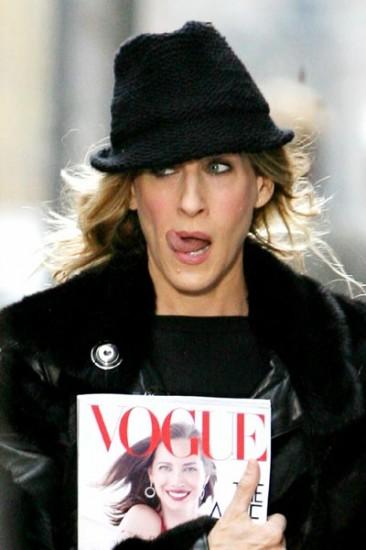 H σχέση της Carrie με τη Vogue