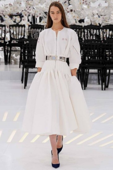 Christian Dior fashion show