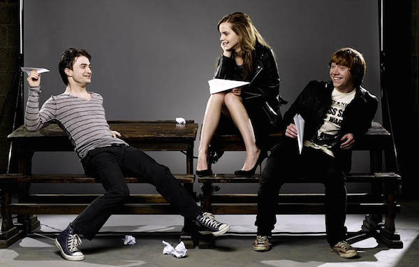 "Daniel Radcliffe, Emma Watson και Rupert Grint — The ""Harry Potter"" Series"