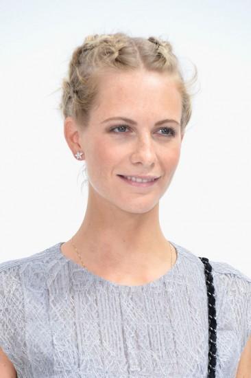 Poppy Delevingne @ Chanel show