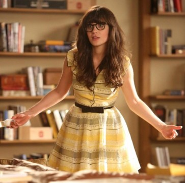 "Η Zooey Deschanel στο ""New Girl"""
