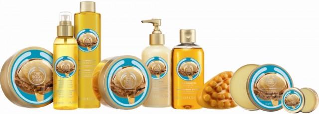 Πλήρης σειρά Wild Argan Oil Bath & Bodycare της The Body Shop