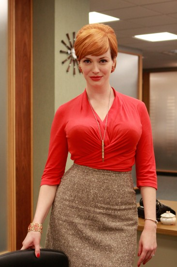 Η Christina Hendricks στο Mad Men