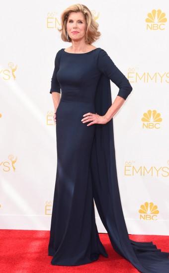 Christine Baranski με Zac Posen-Emmys 2014