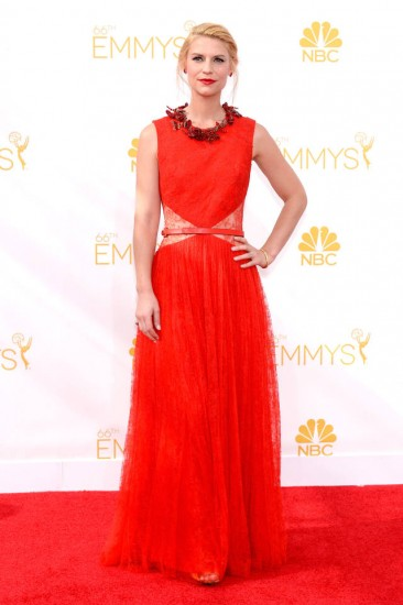 Claire Danes-Emmys 2014