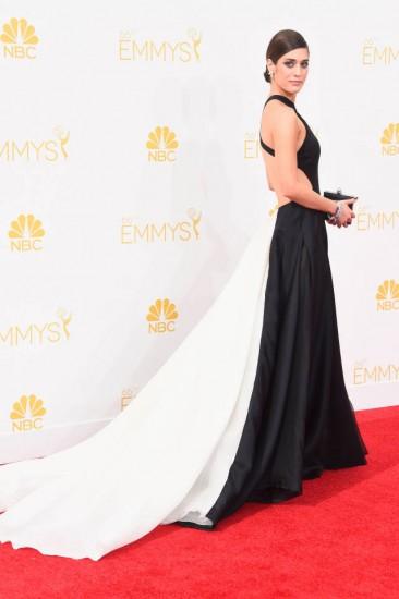 Lizzy Caplan-Emmys 2014