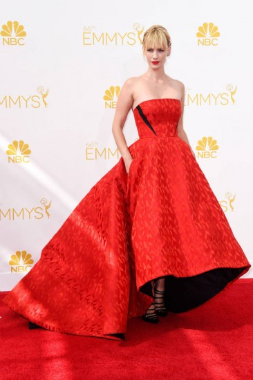 January Jones-Emmys 2014