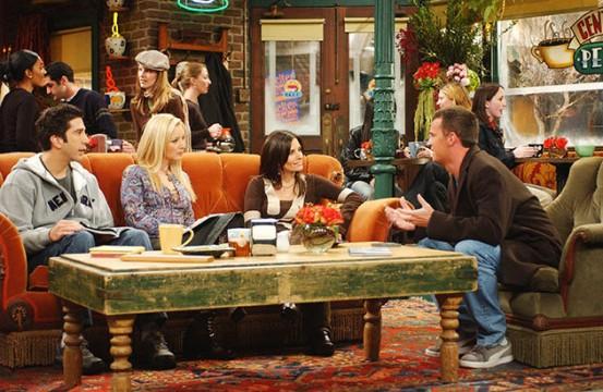 Central Perk: Το μόνιμο στέκι των Friends