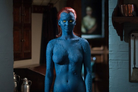 Mystique-Jennifer Lawrence