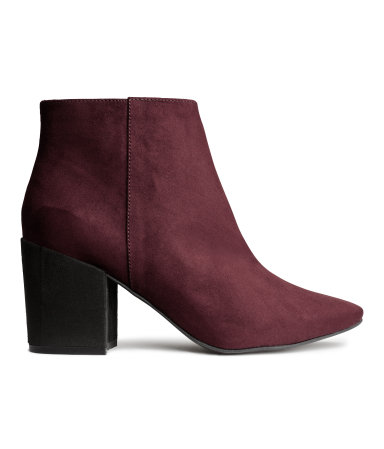 Burgundy Red ankle boots H&M (39,99€)