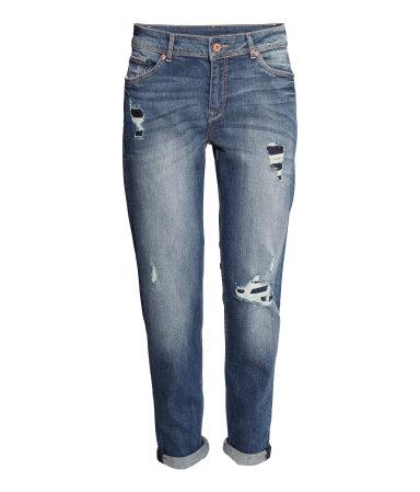 Jeans boyfriend fit H&M