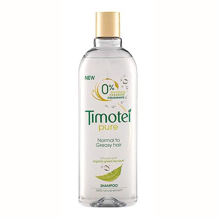 Timotei Pure σε eco-friendly συσκευασία: Σαμπουάν με πράσινο τσάι χωρίς σιλικόνη, parabens, χρωστικές για βαθύ καθαρισμό