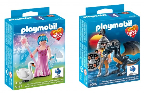 Οι συλλεκτικές φιγούρες PLAYMOBIL play & give 2014