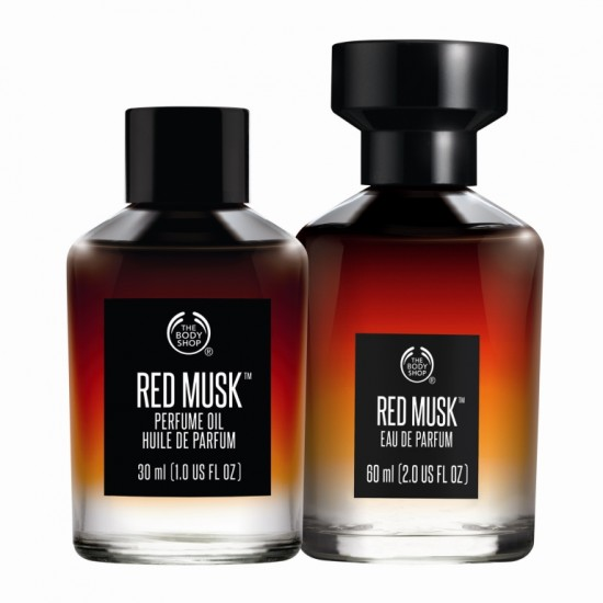 Red Musk Perfume Oil 30ml (19,50€)/Red Musk Eau de Parfum 60ml (35€)