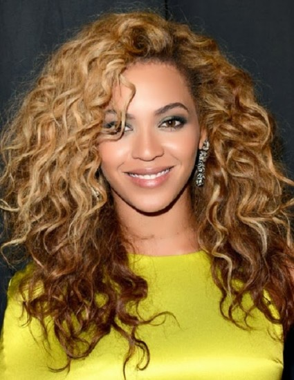 beyonce-curly-hair