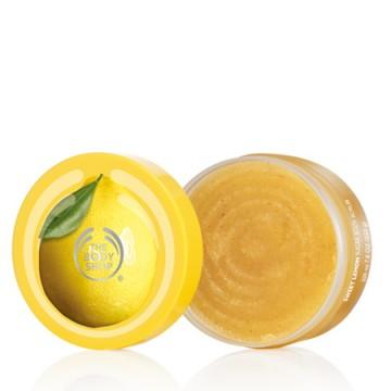 The Body Shop scrub με λεμόνι