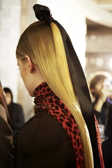 Alexis Mabille Hair Look - Fall 2013