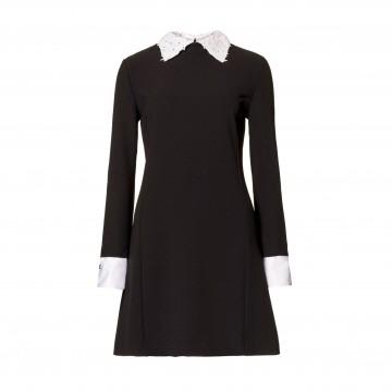 Φόρεμα με γιακά & μανίκια United Colors of Benetton