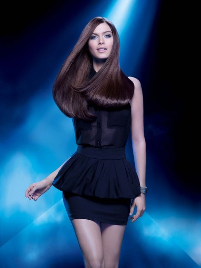 Aπόλυτα λεία μαλλιά με Steampod (Pamela Lisse for L'Oreal Professionnel)