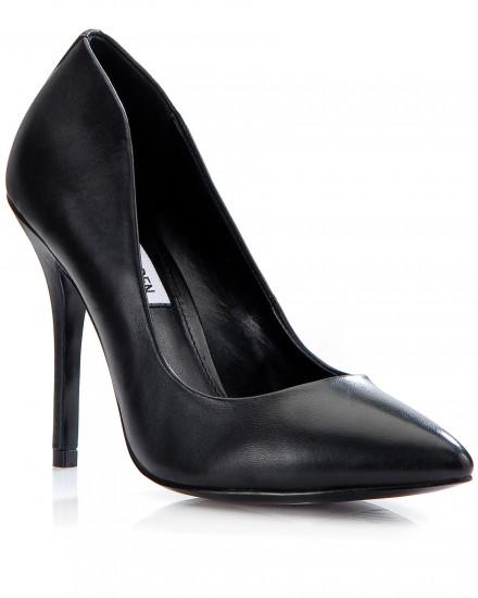 Δερμάτινες γόβες Steve Madden-Nak Shoes
