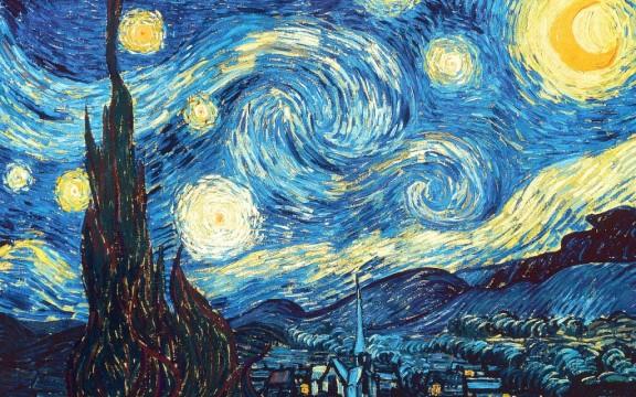 Έναστρη Νύχτα - Van Gogh (1889)