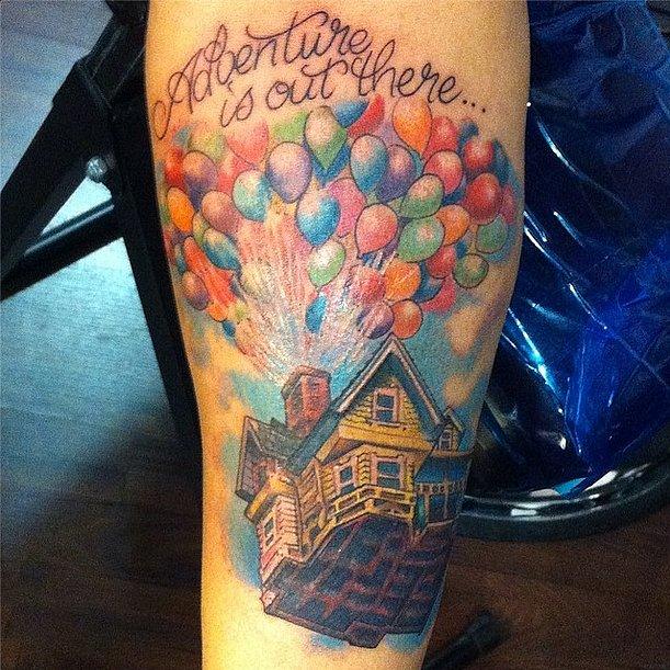 Going-Up-disney-tattoo