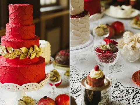 Red-Velvet-cake-xmas-wedding