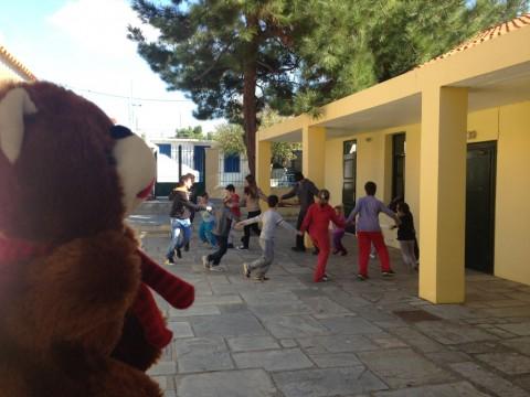 Το ArGOODaki επισκέπτεται σχολείο στον Άγιο Ευστράτιο