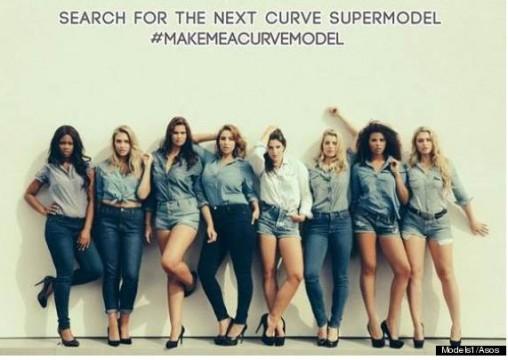 """Make me a curve model"" by Asos"