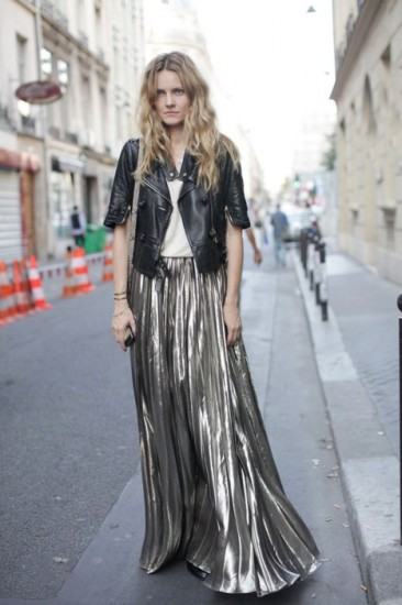 metallic-maxi-skirt-xmas-style