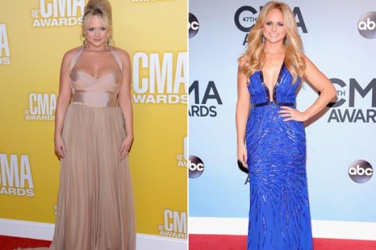 H αλλαγή στο σώμα της Miranda Lambert