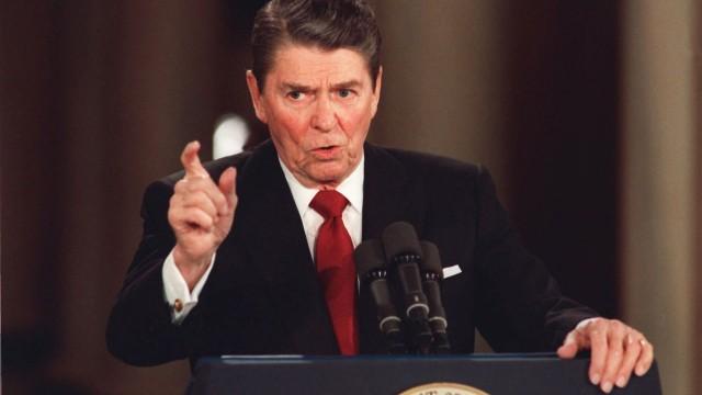 Η ομιλία του R.Regan για το AIDS.