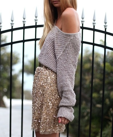 sequined-skirt-xmas-style