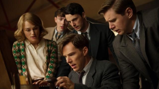 "Keira Knightley, Matthew Beard, Matthew Goode, Benedict Cumberbatch και Allen Leech στο ""The Imitation Game"""