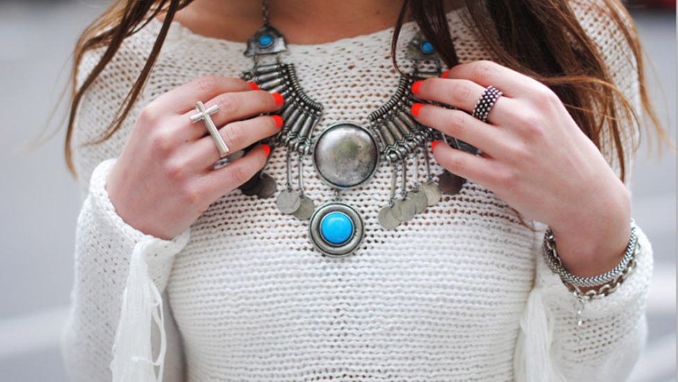 white-sweater-and-statement-necklace