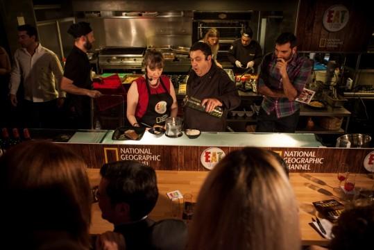Το cooking session (©National Geographic Channels)