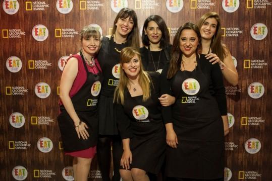 Οι food bloggers που συμμετείχαν στο cooking session (©National Geographic Channels)