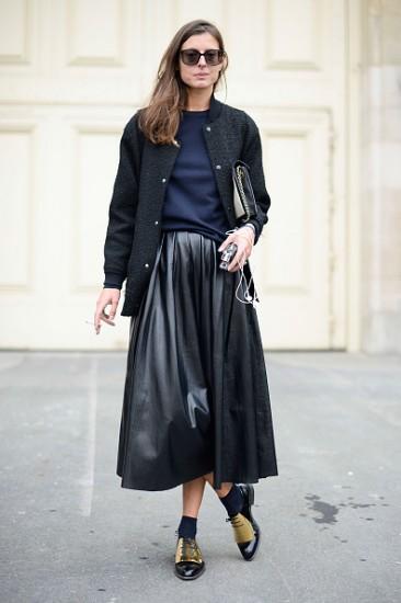 Street Style - Paris Fashion Week, Womenswear S/S 2015 : September 24th
