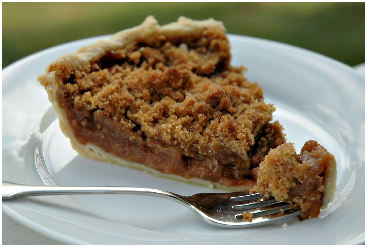 Apple Crumble Pie 2
