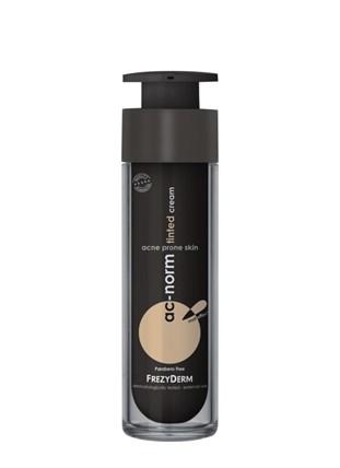 Ac-norm Tinted cream: Έγχρωμη επικαλυπτική κρέμα για τις ατέλειες της ακνεϊκής επιδερμίδας. Με φυσικά χρώματα που προσαρμόζονται σε κάθε χρωματικό τόνο, χαρίζοντας τέλεια κάλυψη και ένα αψεγάδιαστο πρόσωπο