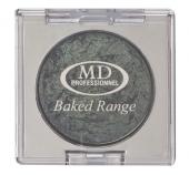 MD Professionnel Baked Range σκιές ματιών-Γκρι, μεταλλική απόχρωση (#816)