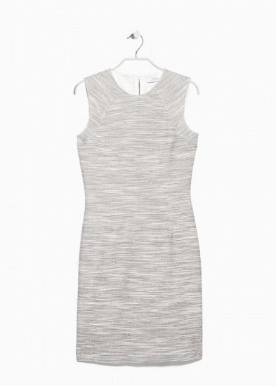... Βαμβακερό φόρεμα με «πιτσιλωτή» ύφανση Mango (39 6bb0bd541b7