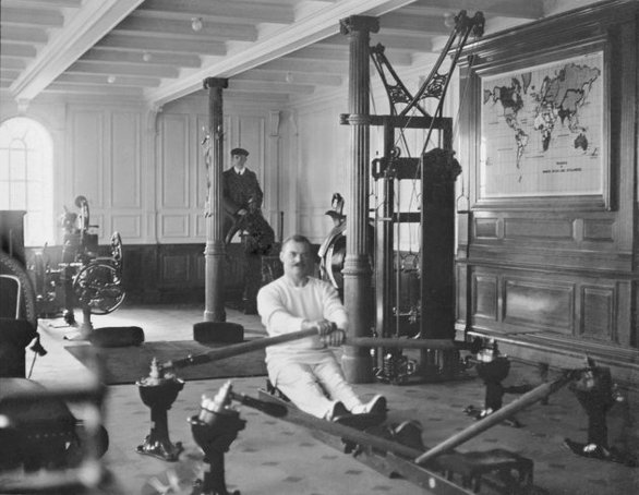 Το γυμναστήριο του Τιτανικού