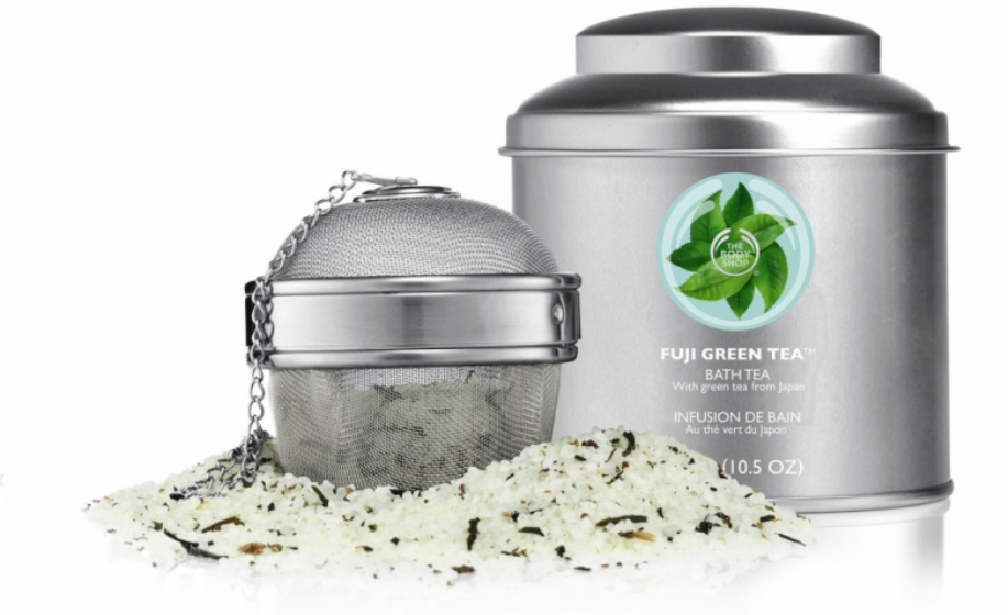 Fuji green tea bath tea